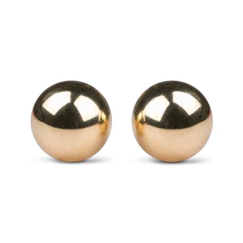 Vaginalne kroglice | zlate | Ben Wa | 2 kosa | 22mm