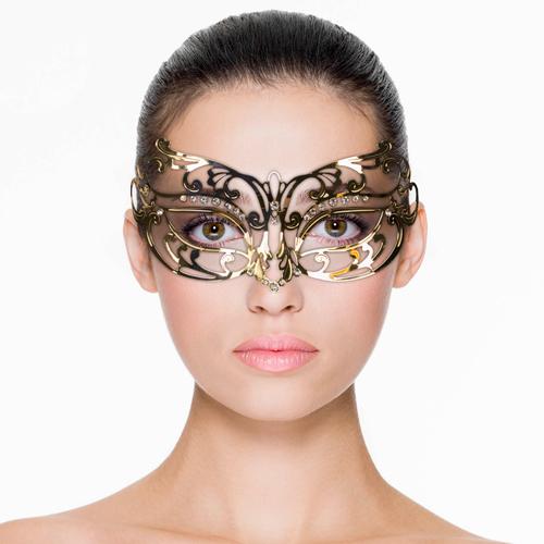 Erotična maska | kovinska | zlata