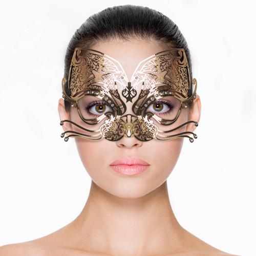 Erotična maska | kovinska | muca