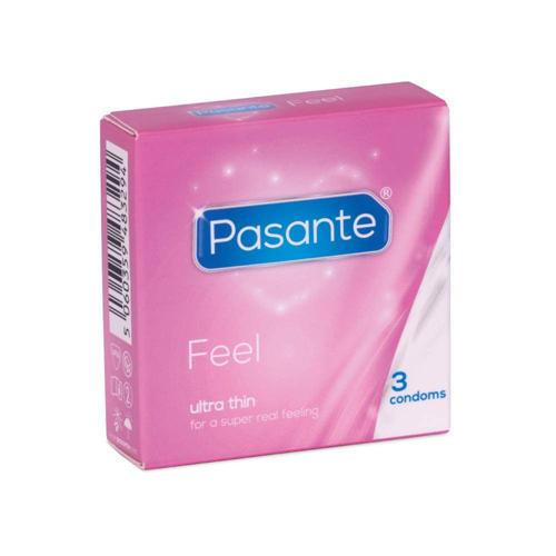 Kondomi | Feel | 12 kosov | Pasante | obseg 54mm
