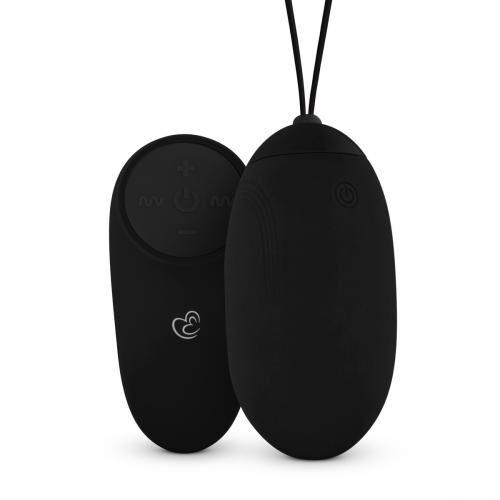 Vibracijski jajček z daljincem | črna barva