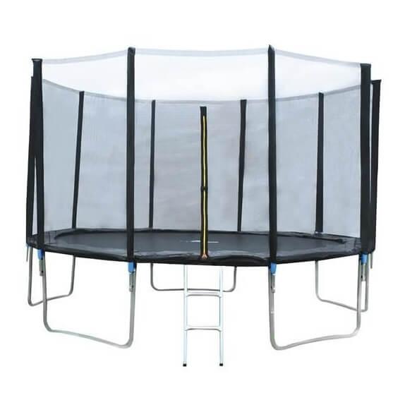 Vrtni trampolin z varnostno mrežo | 366cm