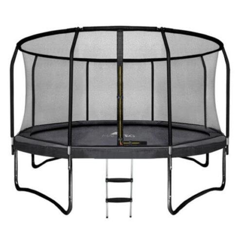 Vrtni trampolin z varnostno mrežo | 430cm