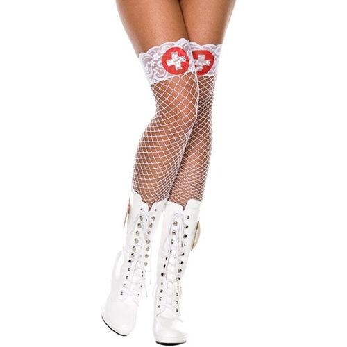 Mrežaste nogavice | medicinska sestra