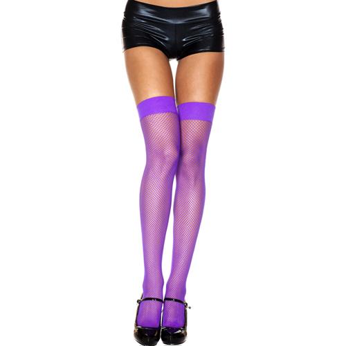 Erotične nogavice | vijolične | nylon