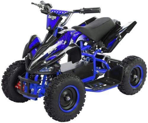 Mini električni 4-kolesnik | modra barva | 1000W