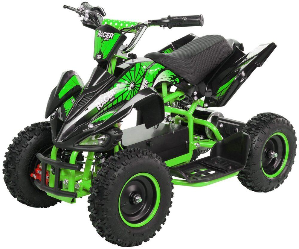 Otroški električni 4-kolesnik | zelena barva | 1000W