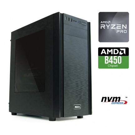 Namizni računalnik MEGA 6000X Ryzen 3 PRO 4350G