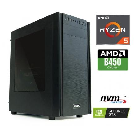 Gaming računalnik MEGA 6000X Ryzen 5-3600 | GTX1650 4GB