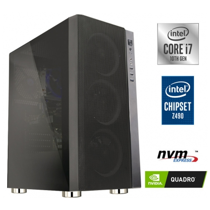 Gaming računalnik MEGA 6000Y i7-10700F | Quadro P2200 5GB